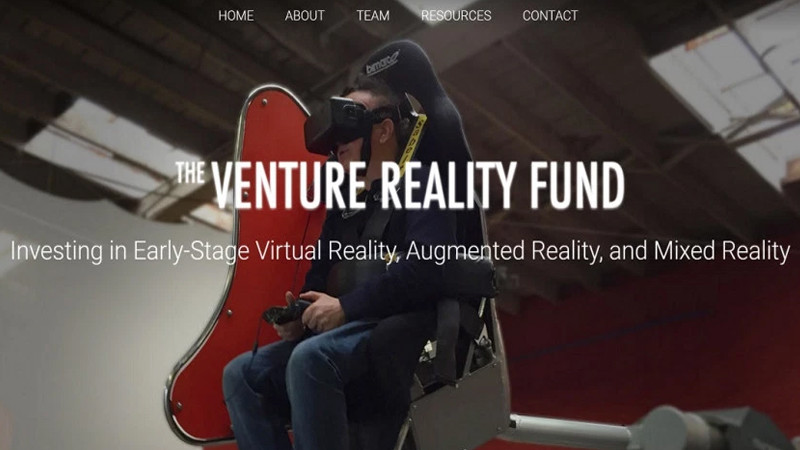 Venture Reality Fund: un panorama d'entreprises AR