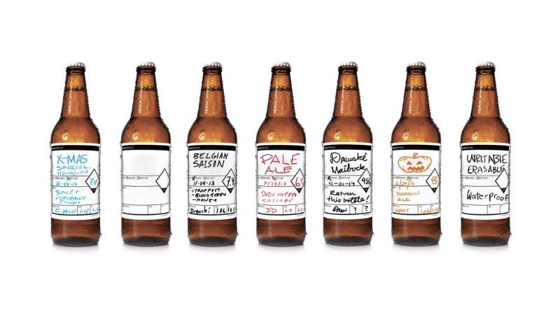 Pourquoi pas : des étiquettes de bière AR