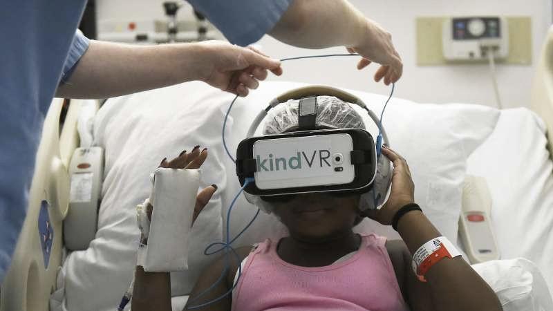5 Apps VR pour aider les patients médicaux !