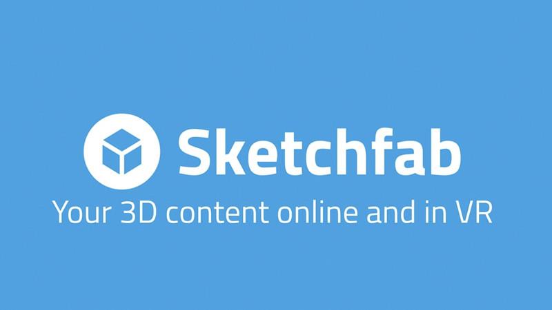 Sketchfab : la plus grande bibliothèque AR au monde?