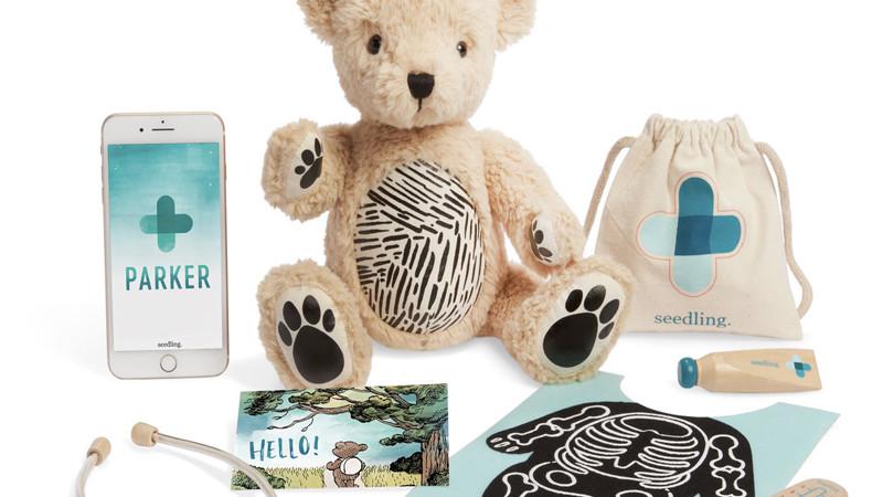 Un ours AR apprend la médecine aux enfants