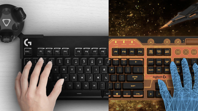 Logitech : un clavier pour la réalité virtuelle