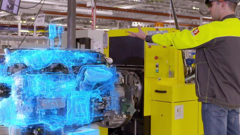 Renault Trucks utilise la réalité augmentée pour le contrôle des moteurs