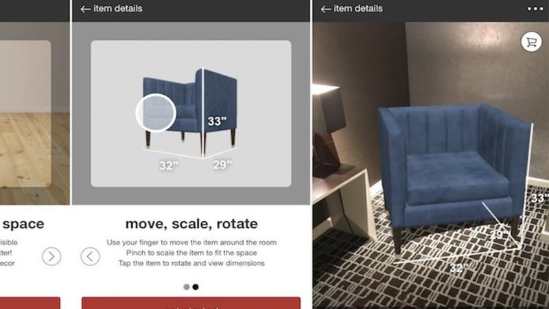 Target veut vous faire acheter vos meubles en réalité augmentée