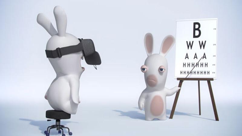 Les Lapins Crétins en réalité virtuelle