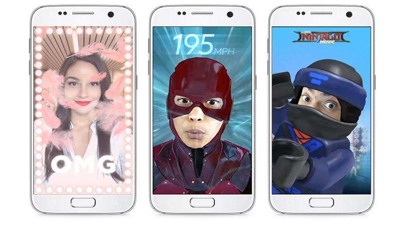 Des nouveaux filtres AR pour Messenger