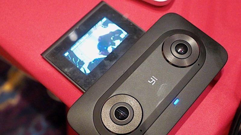 CES 2018 : zoom sur la caméra YI Horizon VR180