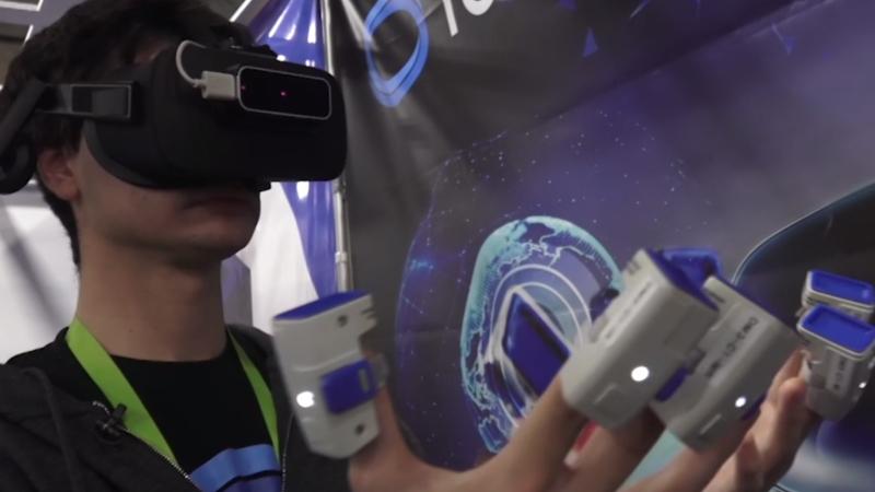 On peut maintenant toucher des objets dans la VR