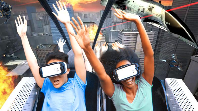 La réalité virtuelle est-elle le futur des parcs d'attractions ?