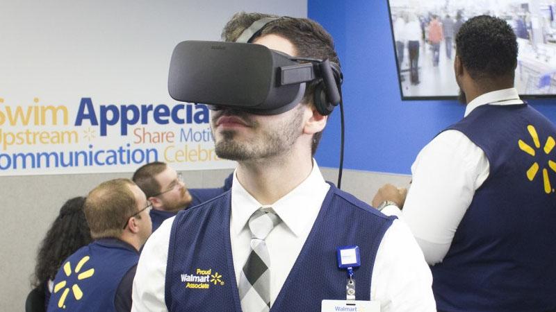 La dernière acquisition de Walmart ? Une startup VR