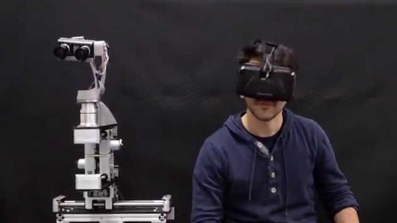 Entrainer les robots grâce à la réalité virtuelle