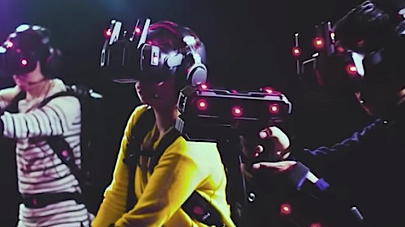 Pourquoi les salles d'arcade VR ont le vent en poupe