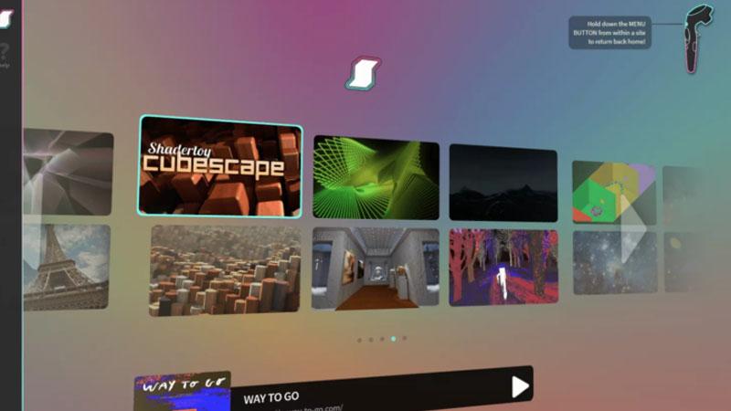 Supermedium : un navigateur en réalité virtuelle