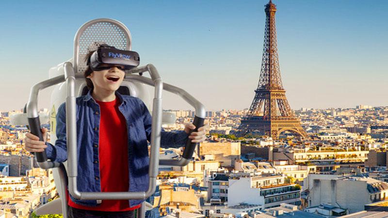 Paris comme vous ne l'avez jamais vu grâce à FlyView