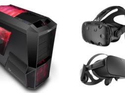 PC réalité virtuelle