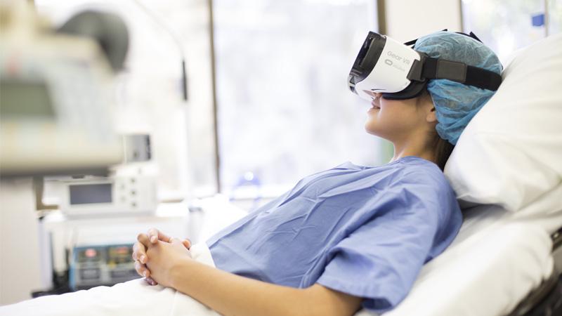 Hypno VR : la réalité virtuelle au service de la médecine