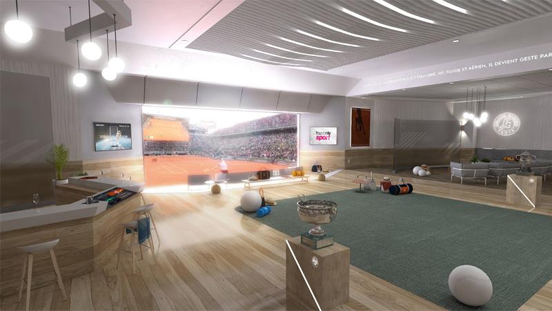 Regarder Roland Garros en réalité virtuelle, c'est possible !