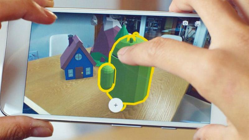 Apprenez à créer votre propre application AR avec Google !