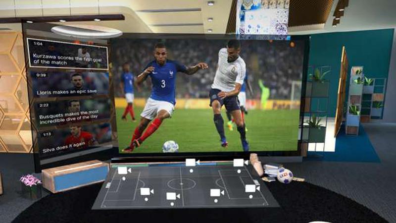 Avec MYTF1 VR, vivez la coupe du monde en réalité virtuelle