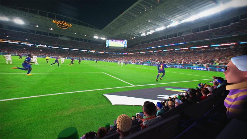 Oculus Venues : sports et événements comme si vous y étiez