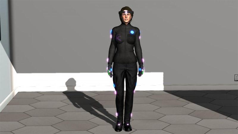 Une immersion totale en réalité virtuelle grâce à l'Holosuit !
