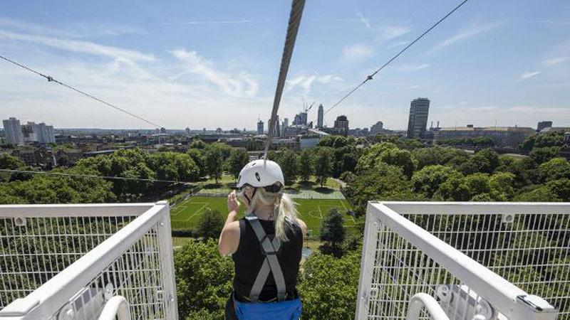 Zip Now : une tyrolienne en réalité virtuelle au cœur de Londres !