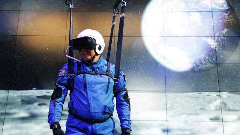 Marcher sur la lune en réalité virtuelle, c'est désormais possible !