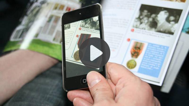 TOP 5 vidéos de la semaine : quand l'AR s'invite dans les livres…