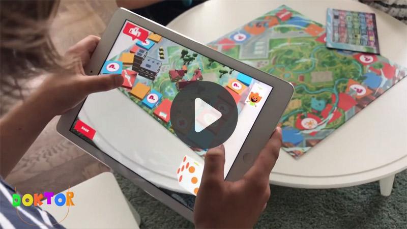 TOP 5 vidéos de la semaine : un jeu de société jouable en AR