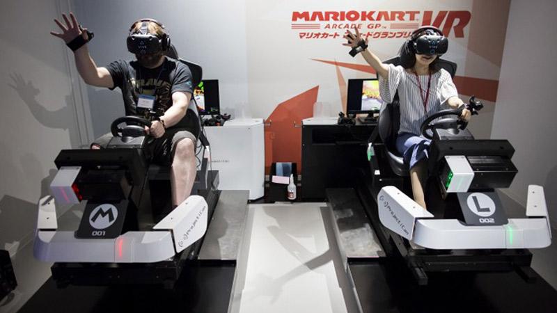 Mario Kart sera bientôt jouable en réalité virtuelle à Londres !