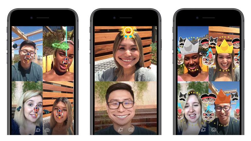 Facebook se lance dans les jeux en réalité augmentée sur Messenger !
