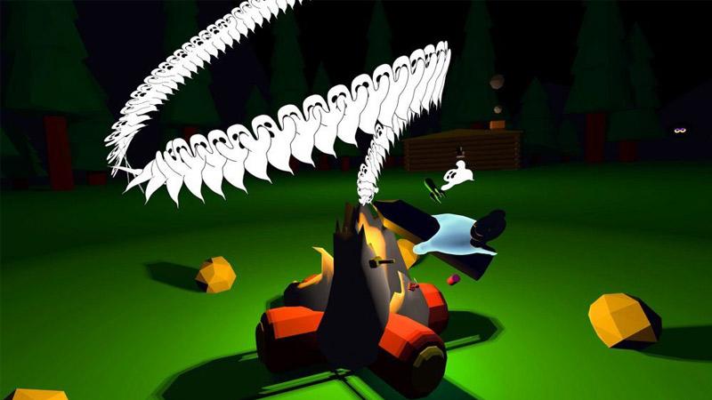 Giphy World, un monde loufoque rempli de GIF en réalité virtuelle !