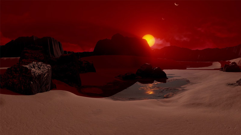 Grâce à la NASA, voyagez dans l'espace et visiter des planètes en VR