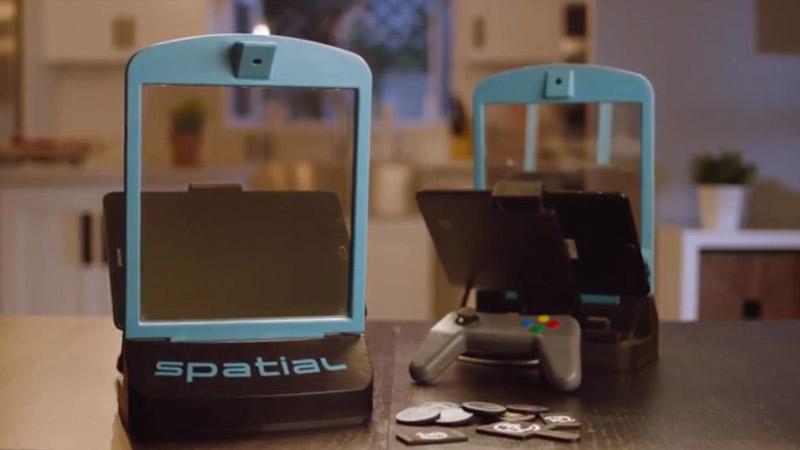 Spatial, un dispositif permettant de jouer à des jeux de plateau en AR !
