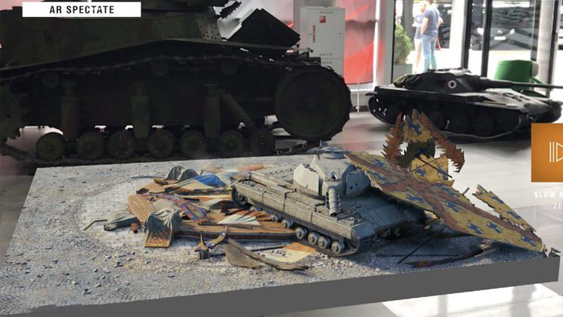 World of Tanks Spectate, une révolution en AR des jeux de plateau ?