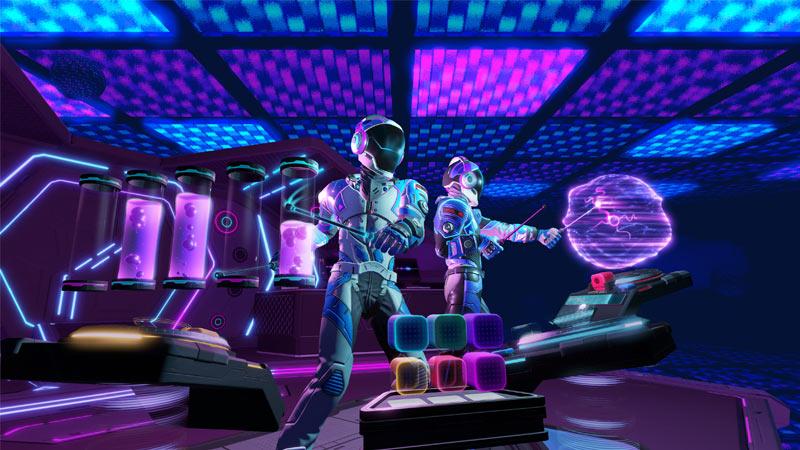 Avec Electronauts, devenez un DJ de l'espace en réalité virtuelle !