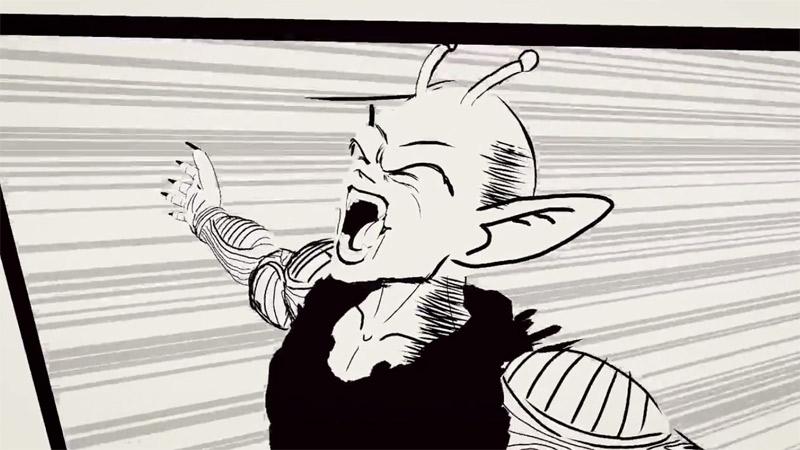 Une scène du célèbre Manga Dragon Ball Z en réalité virtuelle !
