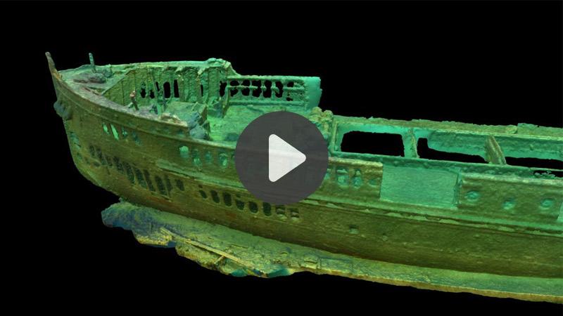TOP 5 vidéos de la semaine : Découvrez l'épave d'un navire en VR !