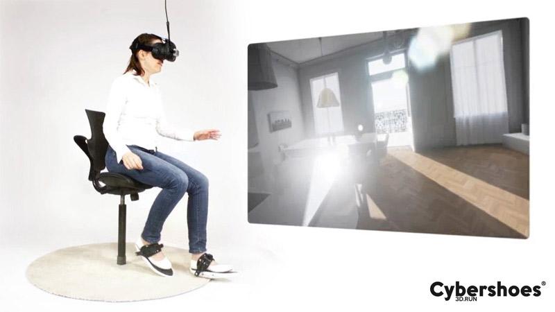 Avec les Cybershoes, il sera bientôt possible de marcher dans la VR !