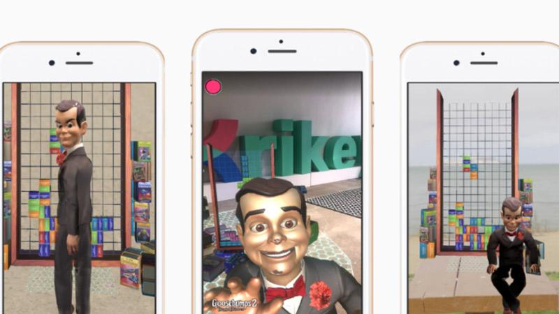 Une application en réalité augmentée pour le film Chair de Poule 2 !