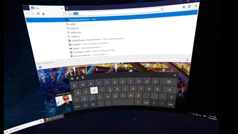 L'application VR Virtual Desktop arrive sur Oculus Go et Gear VR !