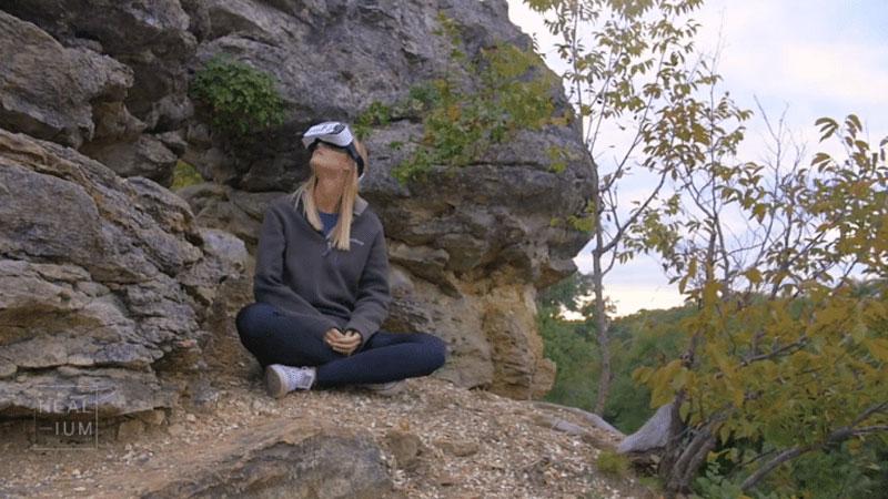 Découvrez l'Heal-ium, un casque VR qui peut lire dans vos pensées !