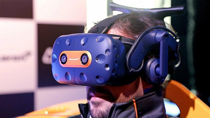 HTC dévoile une édition limitée de son casque VR signée McLaren !