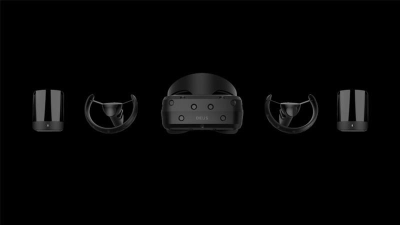 La startup Russe Deus dévoile Odin, son casque VR à la résolution 4K