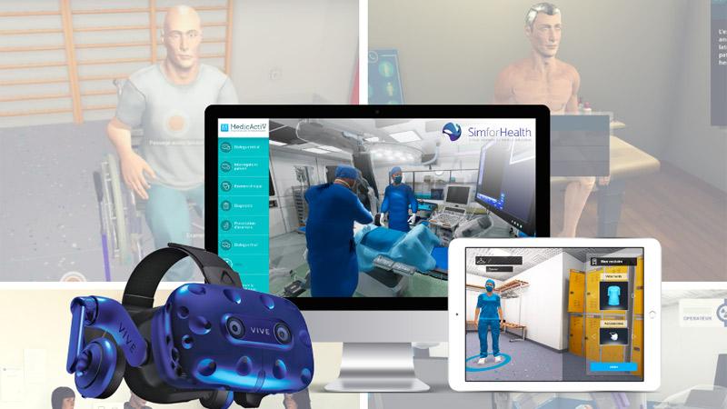 Startup du mois : la formation médicale en VR grâce à SimforHealth