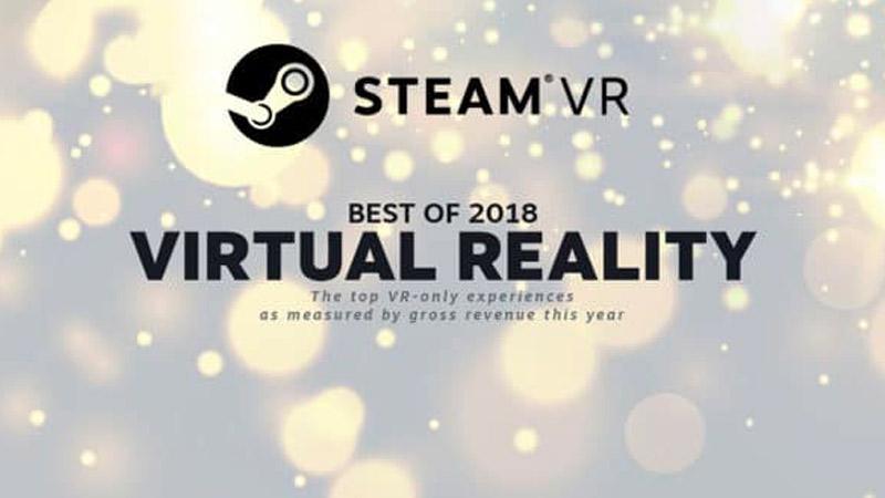 Les meilleurs jeux VR de la plateforme Steam en 2018 sont connus !