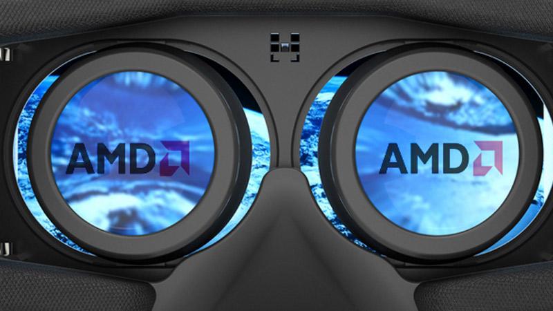 AMD proposera le streaming de jeux VR du PC vers un casque mobile