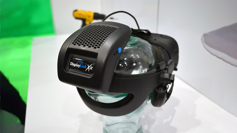 DisplayLink dévoile enfin son adaptateur sans fil pour l'Oculus Rift !
