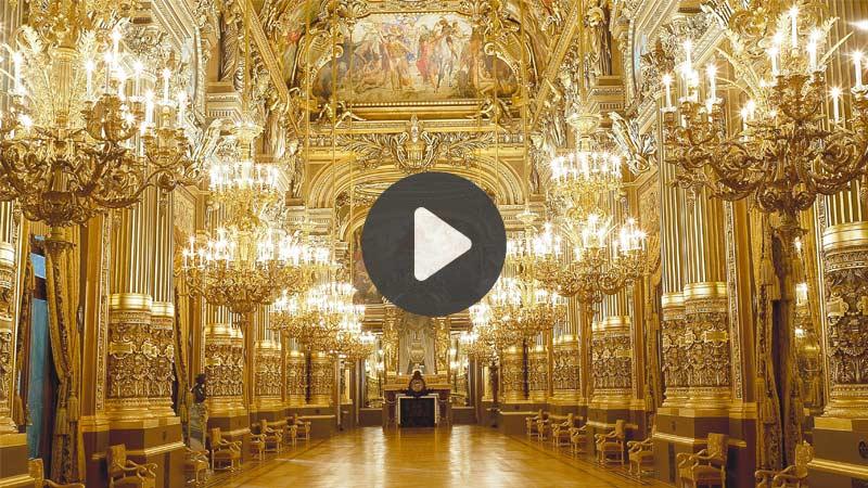 TOP 5 vidéos de la semaine : découvrez le palais Garnier en VR 360° !