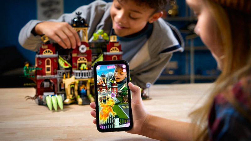 LEGO lance de nouveaux jeux grâce à la réalité augmentée !